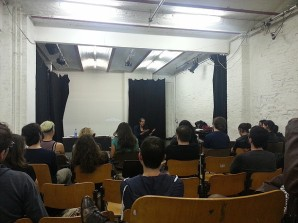 Film acting workshop and lecture with Aleta Chappelle