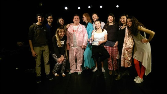Instant Theatre Berlin: performance, 2016