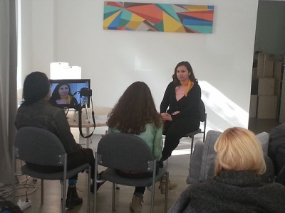 Film acting workshop with Aleta Chappelle
