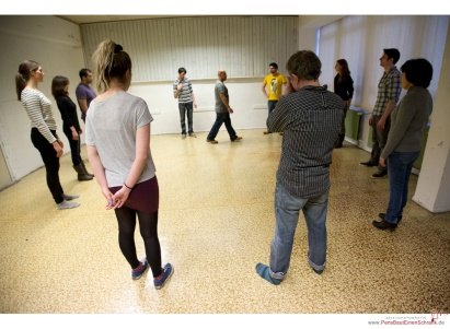 Instant Theatre Berlin training - by Matthias Gottwald