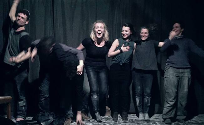 "Instant Theatre Berlin - ""Farewell to..."" performance"