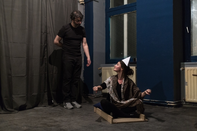 An original theatre show played in Berlin on March 24, 2017 Justyna Krzych Alberto Tarantino