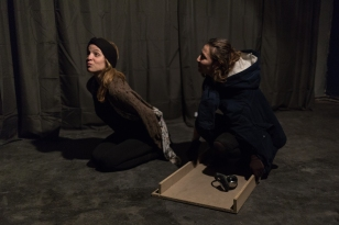 An original theatre show played in Berlin on March 24, 2017 Magdalini Alexandropoulou Hanin Dabbagh