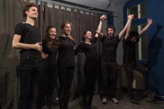 An original theatre show played in Berlin on March 24, 2017